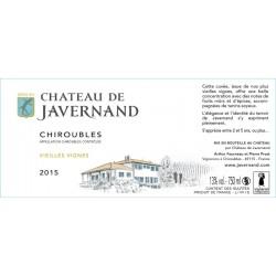 Etiquette Vieilles vignes Chiroubles