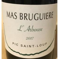Etiquette Mas Brugière L'arbouse - Rouge 2017