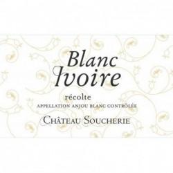 Etiquette Château Soucherie Blanc Ivoire - Blanc 2018