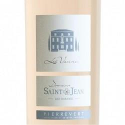 Etiquette Château Saint-Jean Lez Durance Les Vannades - Rosé 2019