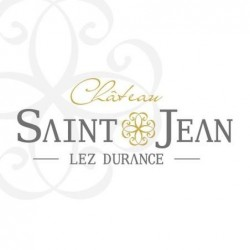 Logo du domaine Château Saint-Jean Lez Durance Jean-Guillaume et Constance d'Herbès Provence